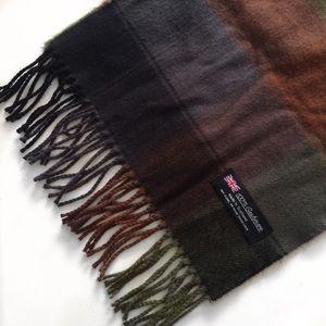 Accessories - 100% Cashmere Scottish Plaid Scarf